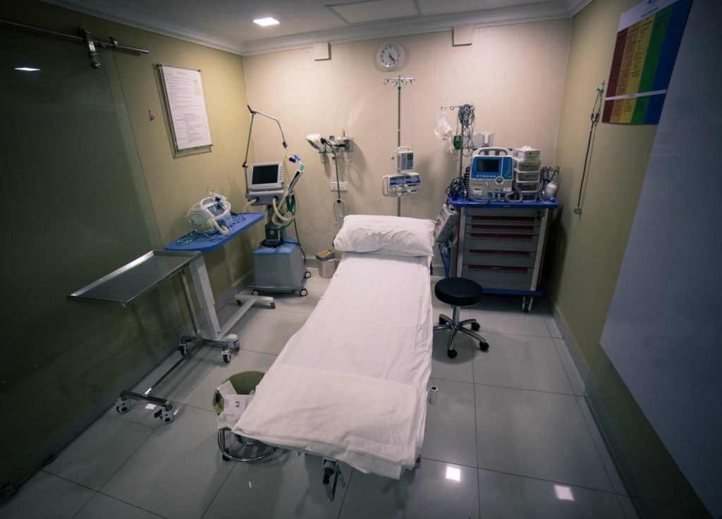Khema Clinic has 4 beds in ER. Out of which on is for critical patients. Its equipped with modern equipment and is always ready to treat the patients.